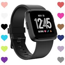 <b>Replacement Silicone</b> Accessory Strap Band for Fitbit Versa ...