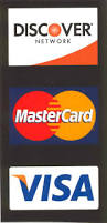 Image result for visa, mastercard and discover logos