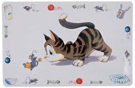 <b>Trixie коврик под миску</b> кошка 44х28см. 22753, ,