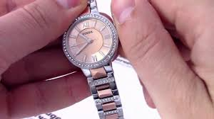 <b>Часы Fossil</b> ES3405 - видео обзор от PresidentWatches.Ru ...