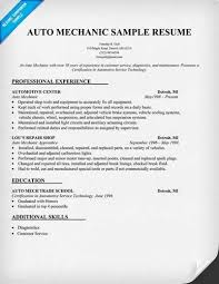 more auto mechanic lt a href quot cv tcdhalls com resume tem html  here is preview of this mechanic resume created using ms word