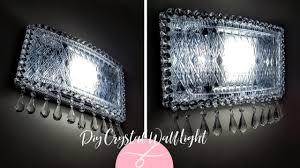 DIY <b>Elegant Wall Light</b> - Dollar Tree DIY - <b>Wall Lamp</b> - <b>Wall Sconce</b> ...