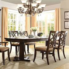 kitchen pedestal dining table set: keegan double pedestal dining room set keegan double pedestal dining table