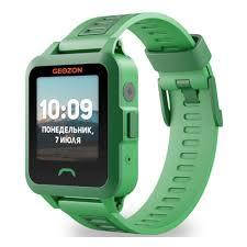 Детские <b>умные часы Geozon Active</b> Green — купить в интернет ...