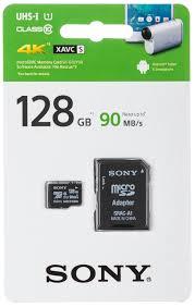 <b>Карта памяти</b> Sony microSD class10 UHS-I 128Gb SR-G1UY3AT ...