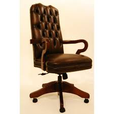 antique leather office chair. marlborough carver traditional vintage leather swivel chair antique office