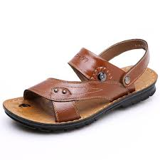 Tangnest <b>Summer Sandal</b> 2017 New <b>Men's</b> PU Leather <b>Sandals</b> ...