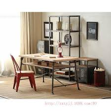 vintage american country to do the old wrought iro american retro style industrial furniture desk