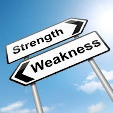 identify weaknesses and strengths of student weakness strength