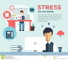new job after stress work infographic students stock vector new job after stress work infographic students