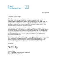 internship letter of recommendation sample recommendation letter sample