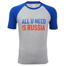 """<b>Футболка</b> детская серая """"<b>All</b> u <b>Need</b> is Russia""""RM-T0010-Y-0916 ..."""