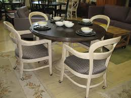 Dining Room Chairs With Arms And Casters Dining Room Chairs With Casters And Arms 1 Best Dining Room