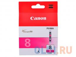 Чернильница Canon <b>CLI</b>-<b>8M</b> пурпурный (magenta) 700 стр. для ...