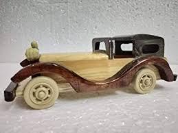 Buy <b>Brown CAR Vintage</b> Handmade <b>CAR</b> Decorative Handcraft ...