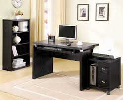 decorationsadorable modern home office design inspiration with rectangle black textured wood excellent modern home adorable small black computer