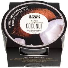 House of Glam <b>Black Coconut</b> Candle (мини) - <b>Ароматическая свеча</b>