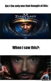 Jim Raynor meme | Jim Raynor Is Iron Man! by Areia - Meme Center ... via Relatably.com