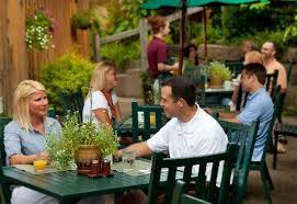 patio dining: inn amp spa at cedar falls restaurant patio dining
