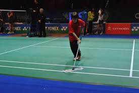 yonex all england open badminton championships being a volunteer