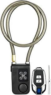 <b>Bike Lock</b>,<b>Anti</b>-<b>Theft</b> Security Wireless Remote Control Alarm Lock <b>4</b> ...