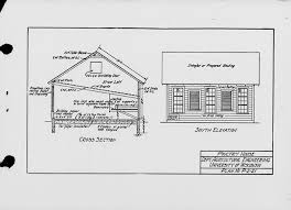 The State  Index of plans  October   Poultry house  Plan no  P  Gallery view Page text