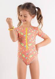 Pineapple Fiesta <b>One Piece Kid Swimsuit</b> – <b>Surfer</b> Girl