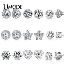 UMODE <b>Korean</b> Butterfly <b>Earrings</b> for Women Vintage Cute Stud ...