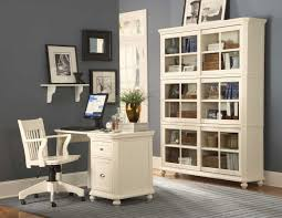 author alluring gray office desk