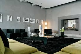 simple living room design featuring black black green living room home