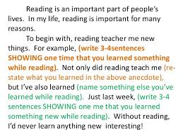 why reading is important essay  wwwgxartorg walkthrough essaywalkthrough essay reading is important