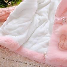 DORAMI Baby Girls <b>Winter</b> Autumn Cotton <b>Warm Cotton Jacket Coat</b> ...