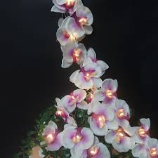 Holiday Flower light <b>string 4M 20led</b>,Handmade Butterfly Orchid ...