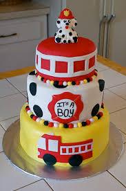 Firefighter Cupcake Decorations Fireman Cakes Decoration Ideas Little Birthday Cakes