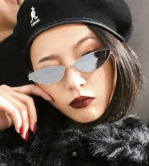 <b>20PCS</b> Cute Sexy Cat Eye Sunglasses Women <b>Retro</b> Small Black