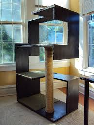 contemporary cat tree furniture modern contemporary cat tree cat modern furniture
