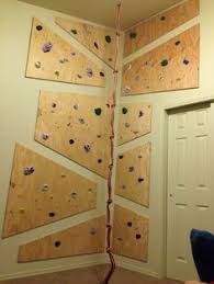 Small Picture Kids climb walls So why not give them one they are allowed to