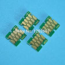 Europe printer use T7551 T7552 T7553 T7554 Cartridge <b>Chip</b> ...