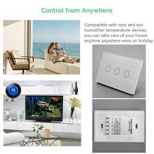 1/2/<b>3Gang</b> Smart Home WiFi <b>Remote Control</b> Alexa Wall Touch ...