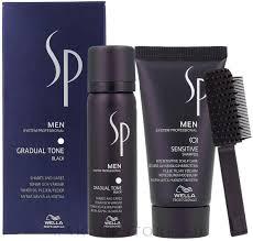 <b>Wella SP</b> Men Gradual Tone Black (hair/mousse/60ml+shmp/30ml ...