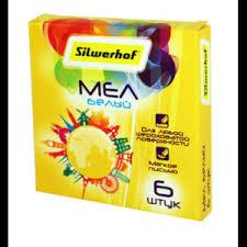 Мел <b>Silwerhof</b> белый <b>Солнечная</b> коллекция 6 штук 882085-06 ...