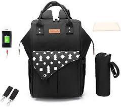 BSTLY Backpack Mummy Bag <b>Multi</b>-<b>Function Large Capacity</b> ...