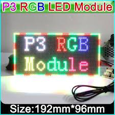 <b>P3 Indoor Full color</b> LED display module,192mm x 96mm, 64*32 ...