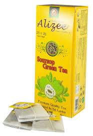 Зеленый <b>чай Alizee</b> Soursop <b>Green Tea</b> в пакетиках 25*2г | <b>Чай</b> ...