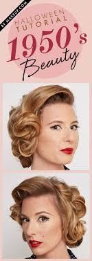 tutorial 1950 s beauty