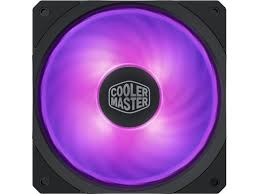 <b>Cooler Master</b> MasterFan <b>SF120R RGB</b> 120mm Square Frame Fan ...