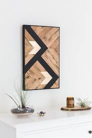 reclaimed wood wall art black and gold designs modern style artistic wood pieces design