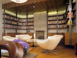 wonderful home library design pictures awesome home library design pictures stone fireplace unique chairs awesome home library design