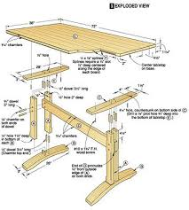 dining table woodworkers: wood table plan project plans for wood tables and desks woodworking plans plans for wood furniture pinterest pedestal woodworking plans and
