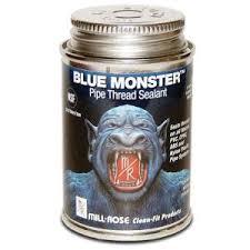 Blue Monster 4 oz. Pipe <b>Thread</b> Sealant-76009 - The Home Depot